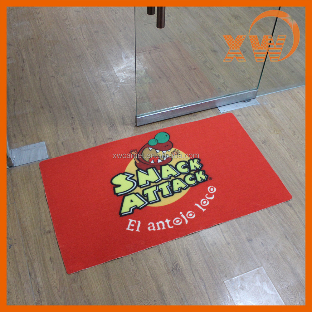 Personalized Shopping mall entrance welcome custom door mat