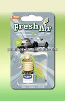Liquid type car air freshener mini bottle wholesale car freshener with new car scents