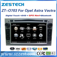 ZESTECH manufacturer double din spareparts for Opel Astra Car dvd gps navigation With DVD, Bluetooth, fm radio, SWC Exporter