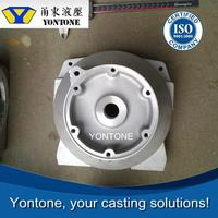 Yontone YT728 Grey Hair ISO9001 Company Beatiful Appearance T6 Heat Treatment AlSi12Cu2 Sand Mold Casting