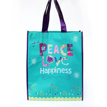 Wholesale barcelona souvenir shopping bag, pp non woven bageco printed promotional bags popular, eco products