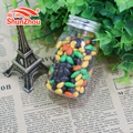 70g wish bottle multi color chocolate coated crispy sunflower seed beans