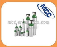 Seamless aluminum alloy gas cylinder/Scube diving cylinder