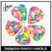Hign Quality Material Cool Colors Guitar Pick Companies