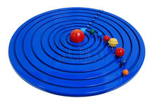 montessori equipment -Geography solar system wooden montessori materials toy