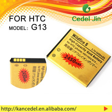 cheap mobile battery gold For HTC BD29100 Wildfire S G13 shenzhen mobile phone batteries