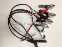 Full insulated battery clip with cable/crocedile clamp/battery clamp for electrical testing