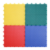 Outdoor interlocking drainage basketball court plastic tile
