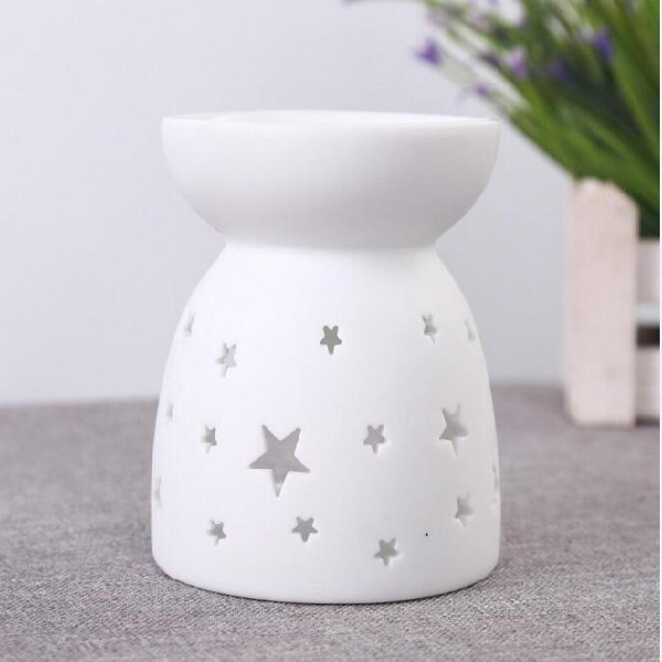 lotus holder ionizing diffuser fragrance and candle warmer