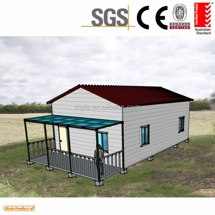 low cost prefab luxury house granny flat cabins 2 bedroom prefab house design