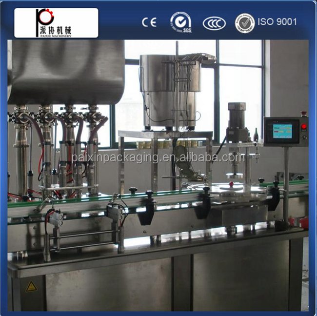 full Automatic filling line 400ml jam filling capping machine shanghai china Factory price