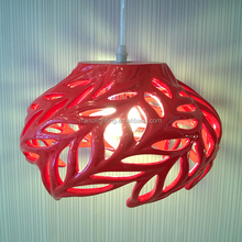 Willow Art Shade Modern Simple Resin Chandelier 4w Indoor Pendant Lights Zhonghshan Guzhen E27 lamp holder with clamp