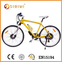 S20 al alloy CE approved 26 inch tire yellow frame cheap racing bike