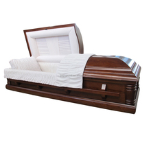 Best used funeral equipment for sale veneer wooden funeral coffins cheapest coffins in