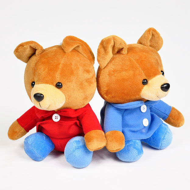 HI CE Custom Teddy Bear in T shirt plush stuffed teddy bear toys for sale