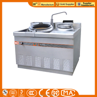 Commercial Gas cooking Range With single -Burner & Oven / Gas Cooking Range for sale