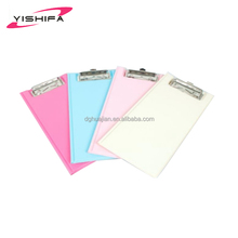 A4 PVC clipboard PVC file folder clip file from Dongguan Manufacturer