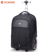 Practical design waterproof laptop trolley travel bag Storage trolly bag