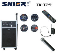 TK-T29 Professional out-door sound system with DVD/CD function