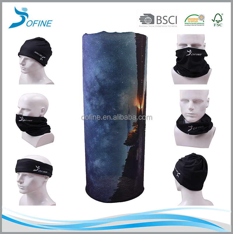 2015 new fashion young multifunctional microfiber tube scarf