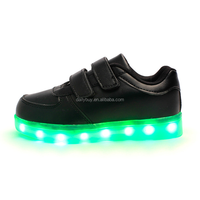 Hot sale simulation LED sports shoes with light for kids
