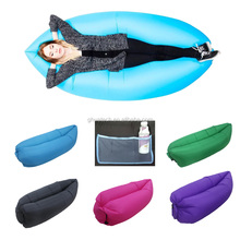 2016 New inflatable lazy sleep bed for outdoor
