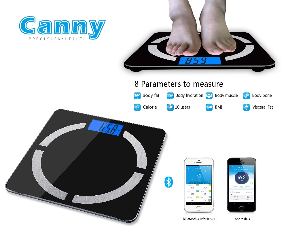 Human Care Electronic Digital Balance Bluetooth Weighing Scale