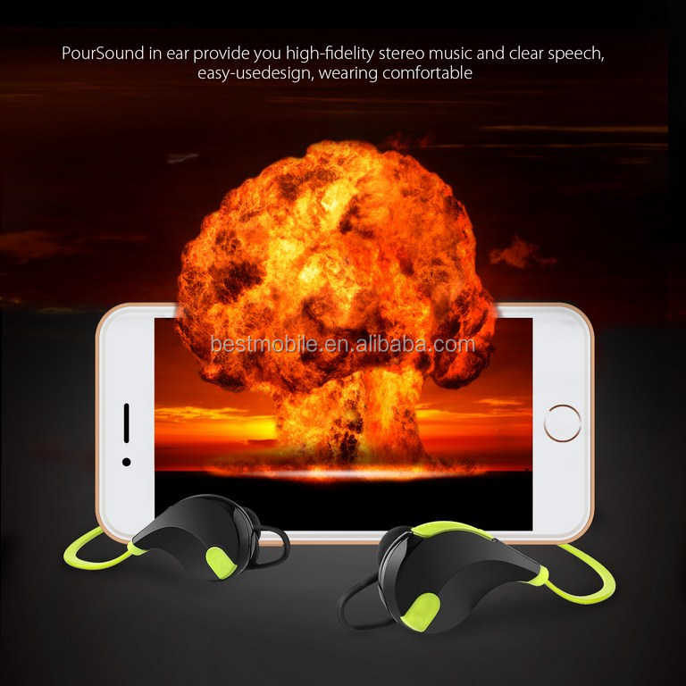 Aukey portable silent disco headphone and in ear earphone