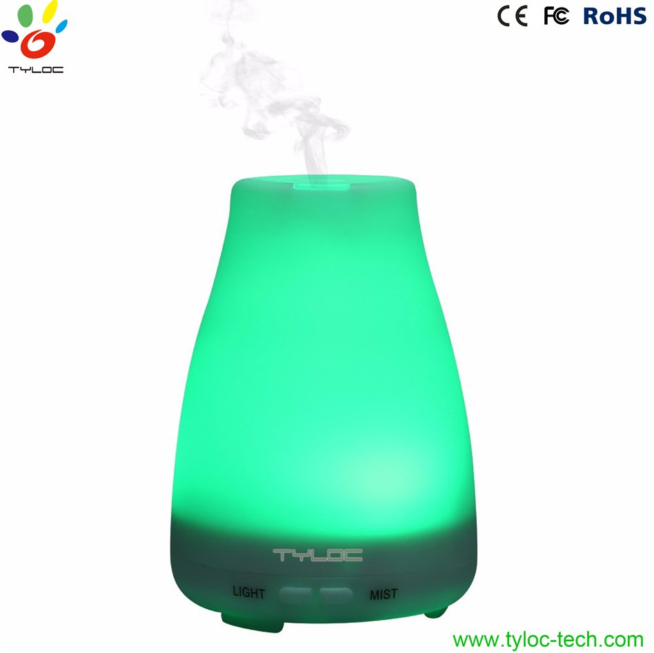 Hot selling 120ML ultrasonic aroma essential oil diffuser with 7 led night light