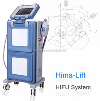 non-surgical skin firming ultrasound face lifting machine HIFU