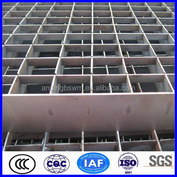 Reliable design steel grating high banded ends