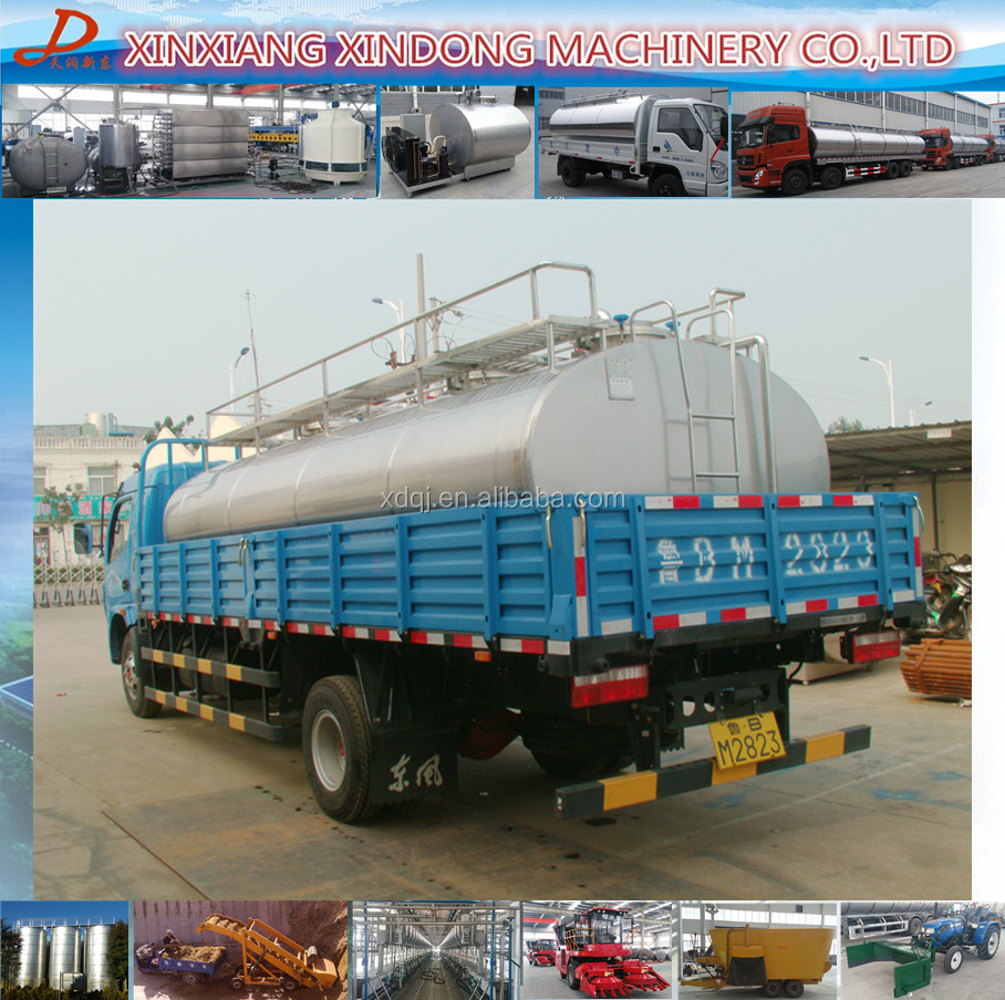 AISI304 milk collection and insulation tank for milk transport