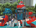KAIQI GROUP Robot series kids favorite attractions plastic outdoor playground equipment