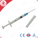 Disposable needle retractable 0.5ml safety syringe