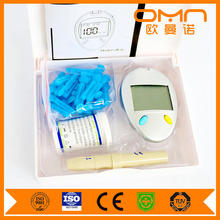 2 in 1 Smart Glucometer One Touch Select Glucometro Set for Blood Glucose Normal Range Test Mini Digital Home Hospital Machine