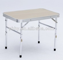 Aluminum folding table beach table camping table outdoor furniture