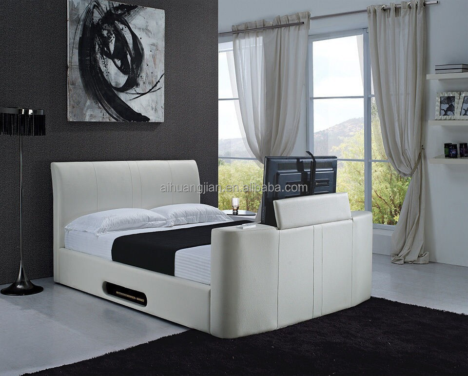 Tv Bed Frames Bed With Tv In Footboard Tv Bed Pu Tv Bed Storage Tv Bed View Tv Bed Frames