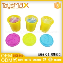 New Arrival Kids Educational Toy Play Dough With Plastic Container