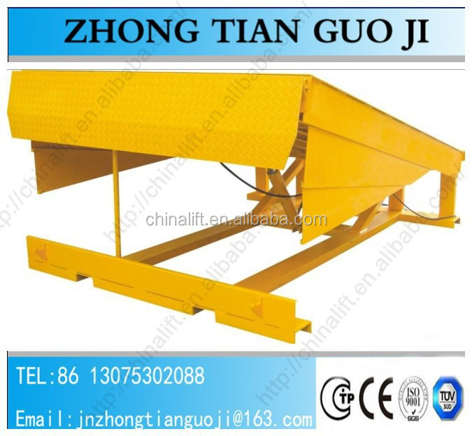 Hydraulic dock leveller/mechanical load ramp/manual load leveler