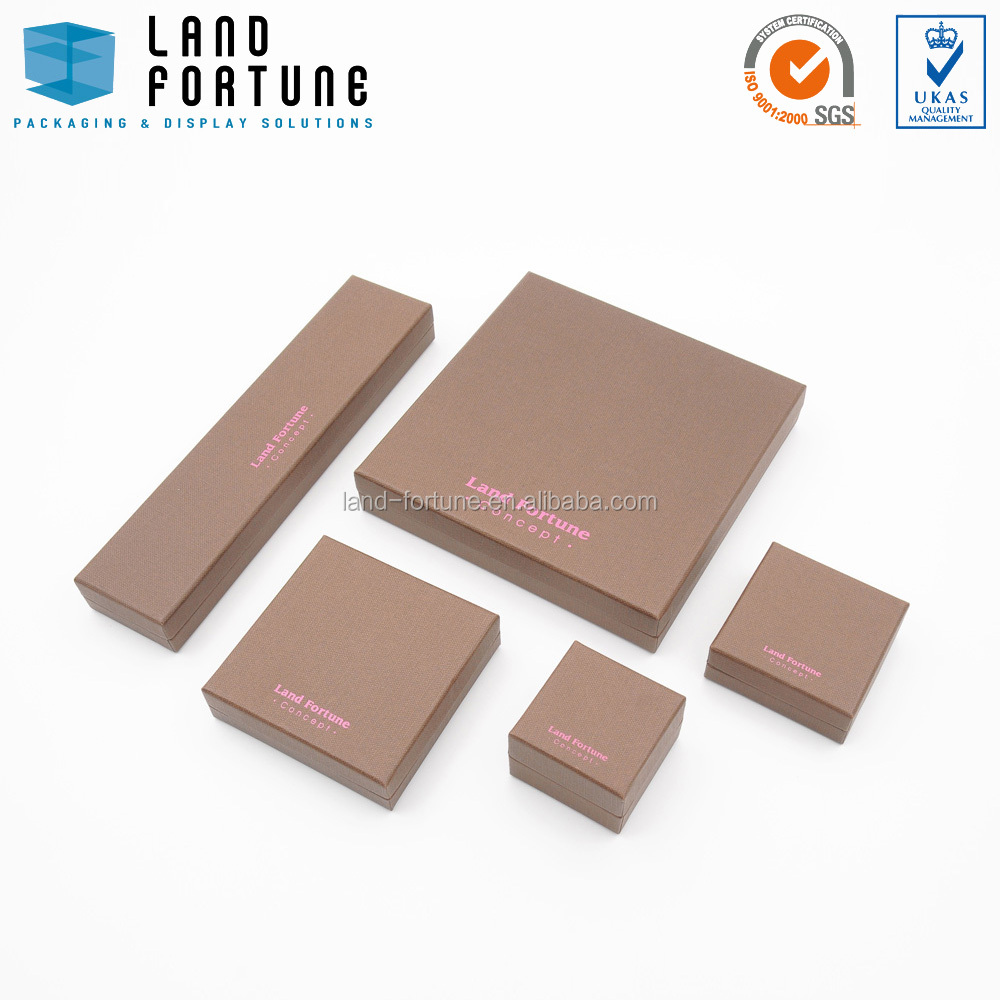 Square plain handmade paper box packaging jewellery hinges cardboard box packaging