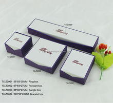 custom size and color good quality gift jewelry paper box wholesale alibaba