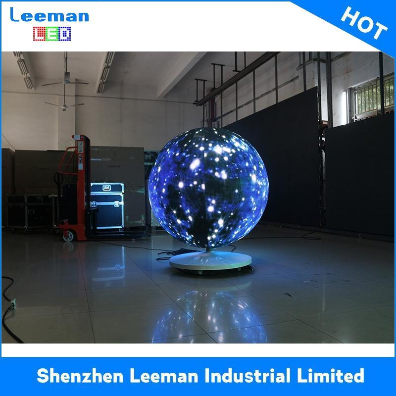 circular advertising led screen arc shaped led tv screens 360 degree curve led display