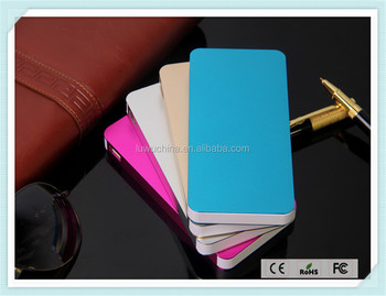 2016 new fashion trend Power Bank 2600mAh Gift customized logo printing