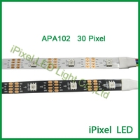 smd5050 colorful RGB 30 Beads apa102 addressable LED Strip Light