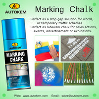 ECO-FRIENDLY CHALK SPRAY PAINT TEMPORARY MARKING AEROSOL