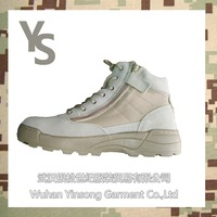 [Wuhan YinSong] Desert Army Boots with high quality