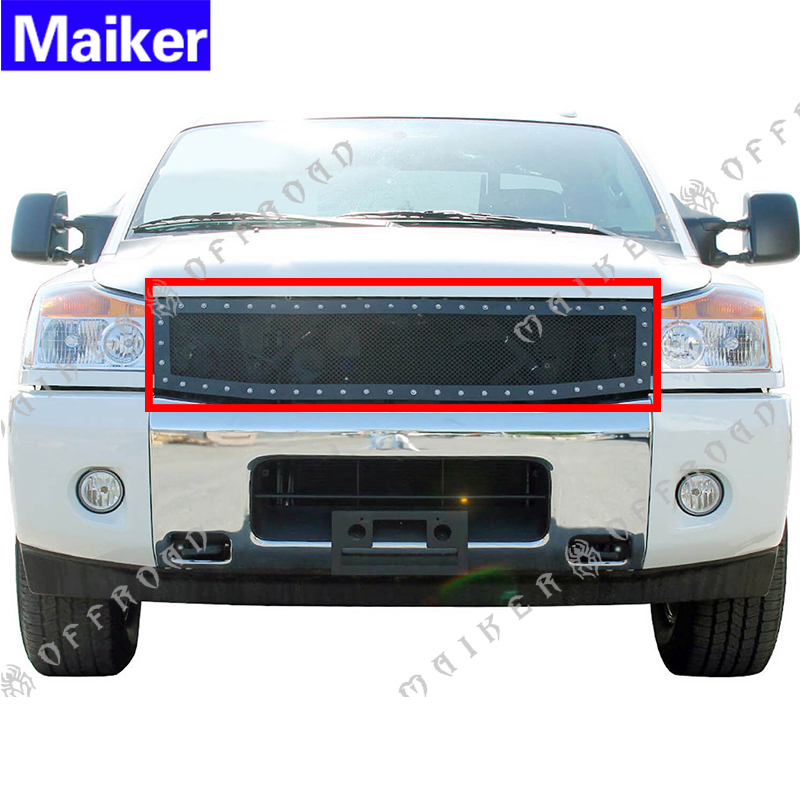 New replacement grille for nissan titan 2004 - 2014 / armada 2005 - 2007 auto spare parts