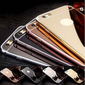phone accessories mobile phone mirror case for iphone 7/7s plus hot selling 2017 amazon