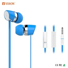 Celebrat Mobile Phones Accessories Handsfree Wired Stereo Fancy Earphone With Mic for Iphone