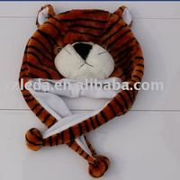 hat scarf plush animal